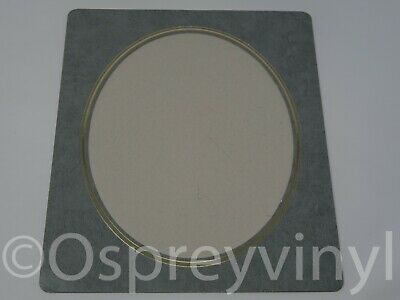 "#31 3x Gem Collection Strut Mount Oval Window Grey/Gold Embossed 8x10"" Photo 2"