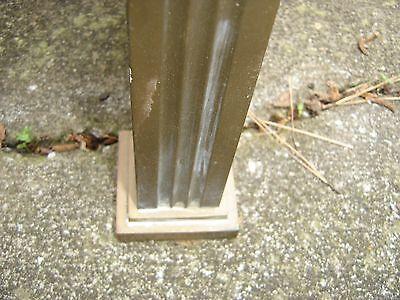 Antique Bronze Teller Window, or Divider or Sign Holder.8381 7