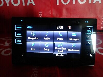 16-19 TOYOTA TACOMA GPS Navigation Touch-Screen Radio CD Player ENTUNE  PREMIUM
