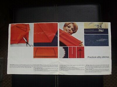 Bernina Record sewing machine Sales brochure 1960's 4