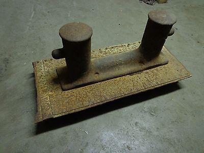 """Antique Boat Deck Steel Bitt Ties 8"""" Diameter / 57"""" x 25"""" x 21"""" 914 lbs 2"""