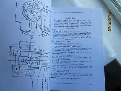 1925 International Harvester 1 1/2 to 6 HP Kero Engine Instruction Manual EK mag 3