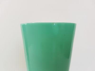 Paar Vasen Art Deco 1920 1930 In Opalglas Glas Opal Vintage 20 Es 30Er Jahre