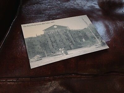 Post Card Back to the Future III Hill Valley Clock Tower 1885 bttf 3 hoverboard 8