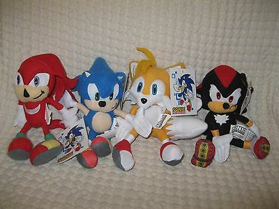 Sonic The Hedgehog Plush 8 Plush Coin Bag Keychain Keyring Clip Brand New 34 99 Picclick