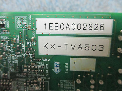 Panasonic KX-TVA50 Voice Mail System - KX-TVA503 2 Port DPITS Expansion Card 2
