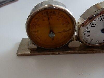 ART DECO ERA   trio clock barometer etc to restore 2