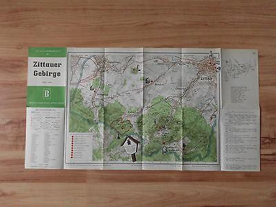 "Wanderkarte ""Zittauer Gebirge"" - 1957"