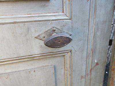 """pAIR ~ LATE 19th century antique furniture CABINET DOORS 74.5"""" x 21"""" & 18.25"""" 9"""