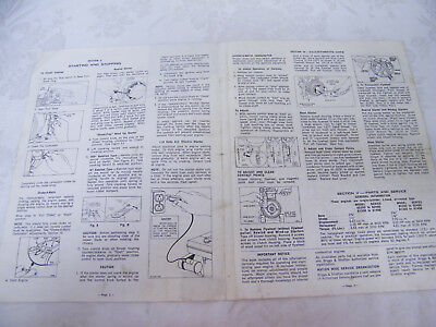 Vintage Briggs & Stratton Operating and Maintenance Instructions 4