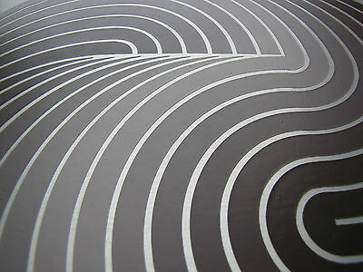 NATALE SAPONE -1977 - UNIKAT - handsigniert - gerahmt - konkrete Kunst Op Art