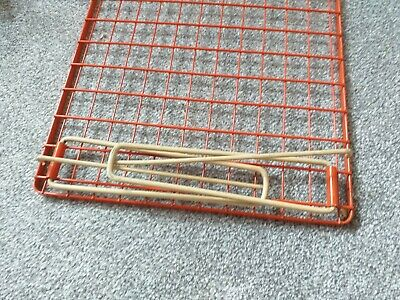 RARE Old Vintage Camper van/Retro midcentury fold away stacking shelves. 9