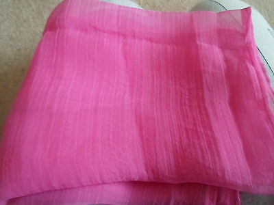 1 NEW Colourful Mixed Fibre Ladies Scarf PRETTY PINK ~ Xmas Gift Idea  #73 4