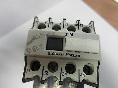 KLOCKNER MOELLER DIL1M 22DILM Z1-10  CONTACTOR ASSEMBLY