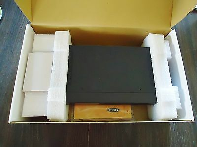 New Omniview 2-Port Kvm Switch Ps/2-Usb Control 2 Computers From 1 Ps/2 Console 3