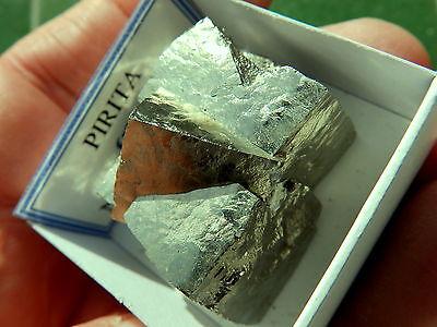 """Minerales """" Fantasticos Cubos Maclados Mina La Grona Navajun(La Rioja) - 4H15 """" 2"""