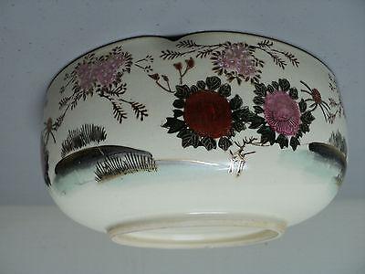 19th C. ANTIQUE JAPANESE SATSUMA POTTERY BOWL, MEIJI PERIOD (1868-1912) 9