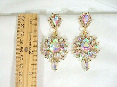 Rhinestone Crystal Chandelier Earrings