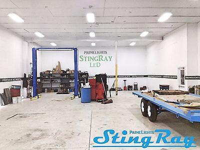 Commercial NEW STINGRAY 4XL T8 LED Light 88Watt Warehouse Shop BRIGHT