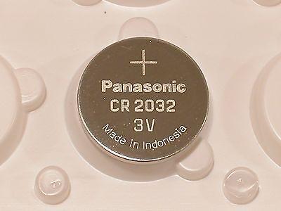 4 pc BULK PANASONIC CR2032 cr 2032 ECR2032 3v Battery EXPIRE 2027 2