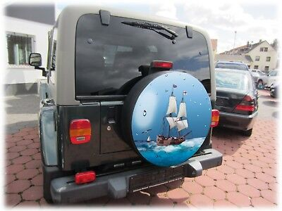 Boot Meer Reserveradabdeckung Reifencover Bezug Honda Suzuki Vitara Jimny 68x21