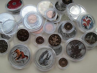 Lighthouse capsuals!10 New Lighthouse coin capsules - Any Size mix 'n match 4