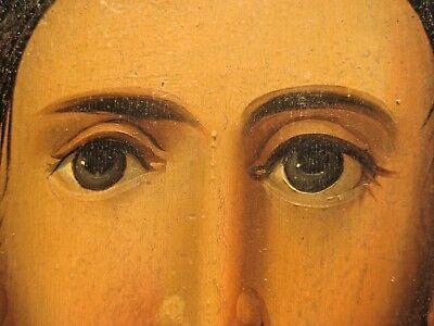 19th century Antique Russian Orthodox Icon Christ Pantocrator Россия