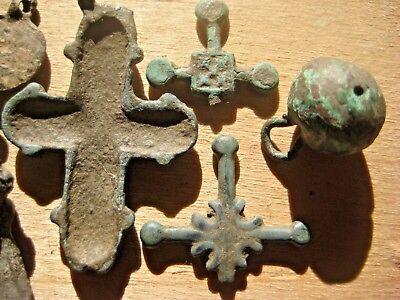ANCIENT CROSS Viking Kievan Rus 10-12 century AD 11