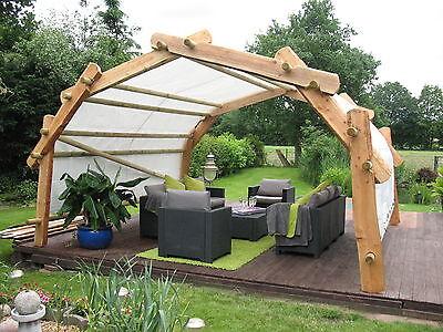 der k nigsbogen carport unterstand holz pavillon bausatz. Black Bedroom Furniture Sets. Home Design Ideas