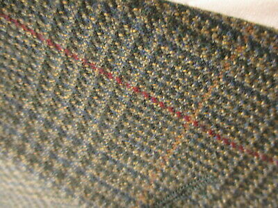 Brooks Brothers Mens Brown Plaid 3 Btn Cashmere Wool Sport Coat 42S 3