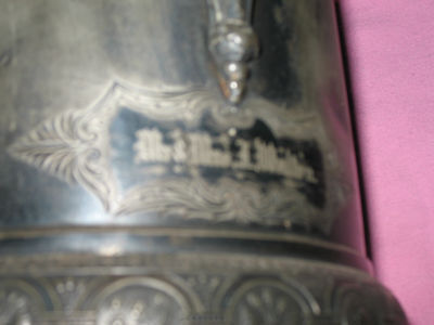 Antique 1860's Middletown Plate Company Pitcher 8