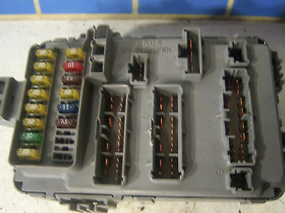 2 of 5 2003 acura cl type-s inside passenger right fuse box panel multiplex