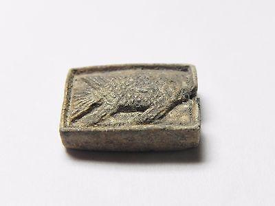 Zurqieh -Cy80- Ancient Egypt , Elegant Steatite Plaque. New Kingdom .1400 B.c 3