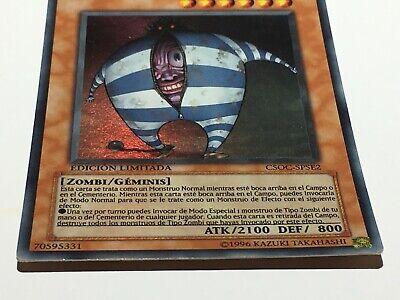 Yu-Gi-Oh ! Card : MALA SANGRE // Edición Limitada - CSOC-SPSE2 4