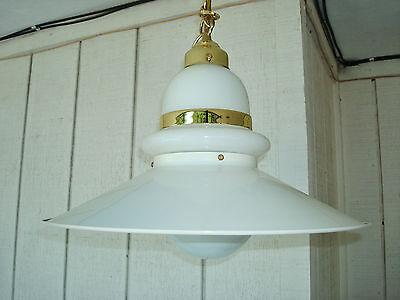 1970's Vintage Mid Century Modern Ceiling Light Fixture 2