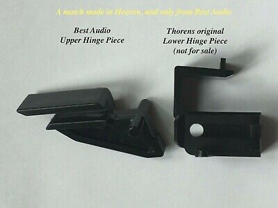 Pats Audio Dustcover Hinge for Thorens TD-165  TD-166 MKII Turntables Plus More