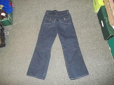 "Denim Co Relaxed Jeans Waist 26"" Leg 26"" Faded Dark Blue boys 11/12 Yrs Jeans 3"
