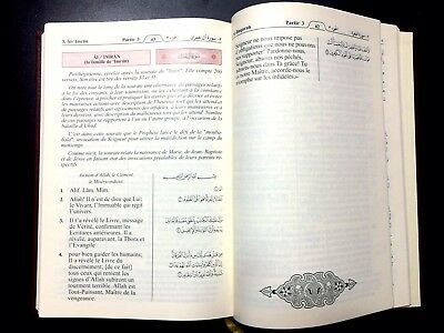 HOLY QURAN  KORAN. FRENCH TRANSLATION du Coran en français. KING FAHAD MADINAH 5