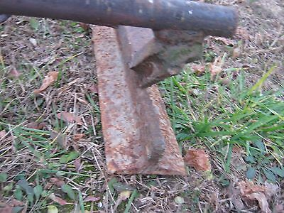 Vintage Primitive Rustic Rusty Handmade Welded Fireplace great for decor 11
