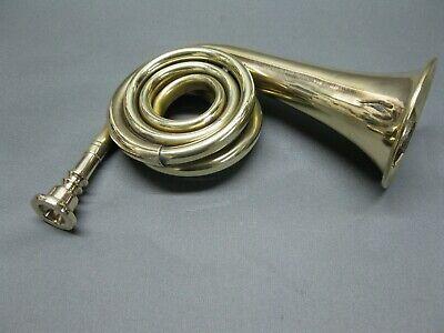 Messing Stethoskop Hörrohr Hearing Pipe  Hörverstärker 22 cm Brass  Ear Tube 11
