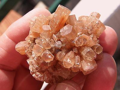 """Minerales """" Fabulosos Cristales Hexagonales Aragonito Maclado Marruecos - 7B14 """" 2"""