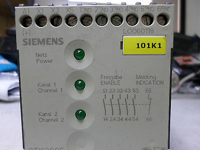 SIEMENS CONTACTOR COMBO FOR SAFETY CIRCUIT - 5 x N/O 1 x N/C -- 3TK2850-0BBA