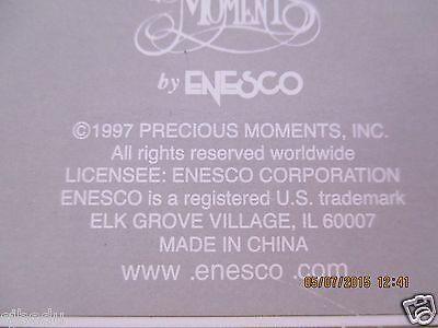 "1997 Precious Moments Porcelain Christmas Bell By Enesco""avon Collectibles Nib"