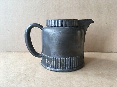 "Antique WILCOX SILVER PLATE CO. QUADRUPLE PLATE PITCHER, Meriden, CT, 3.75"" Ht 3"