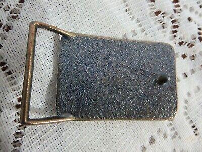 Pony Express Brass Belt Buckle 2