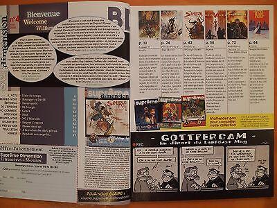 Suprême dimension N° 4 du 05/2006-Samurai-Futuropolis-Contes & légendes de Istin