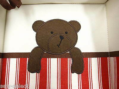 Teddy Bear Nursery Storage Basket - Changing mat area organiser storage tray