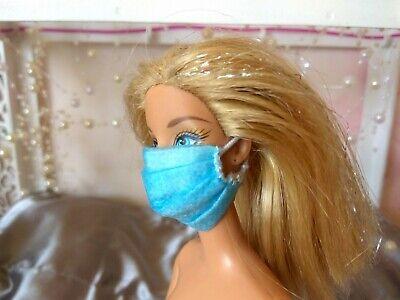E674 Set 3 Masks Fits Dolls Halloween Dollhouse Miniature Cut Strings To Suit