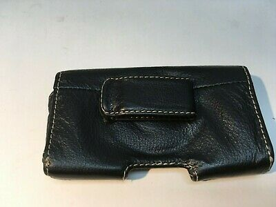 Leather Horizontal Belt Case Pouch for Apple iPhone 4 4S, with Belt Clip 3