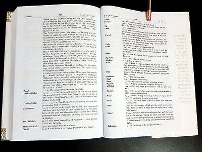 ISLAMIC BOOK (BULUGH AL-MARAM) PROPHET HADITH P in 2002. English Arabic 9